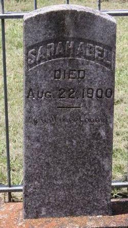 Mrs Sarah Ann <i>Alexander</i> Abel