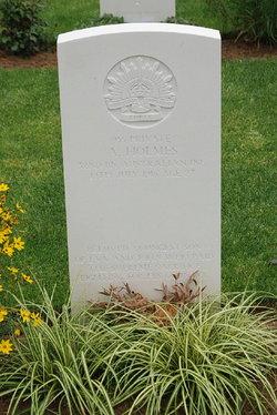 Pvt Arnold Holmes