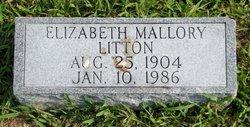 Elizabeth <i>Mallory</i> Litton