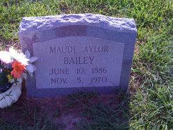 Maude <i>Spiers</i> Aylor Bailey