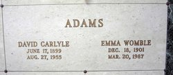 David Carlyle Adams