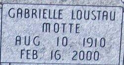 Gabrielle <i>Motte</i> Loustau