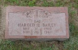 Harold U Bailey