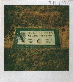 Mrs Franciea Clark- Francie <i>Pyles</i> Tiffany