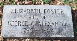 Elizabeth <i>Foster</i> Alexander