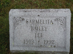 Carmelita <i>Bailey</i> Lee