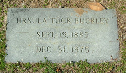 Ursula <i>Tuck</i> Buckley