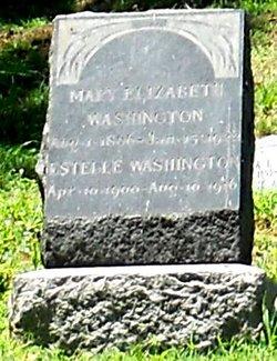 Mary Elizabeth <i>Chambers</i> Washington