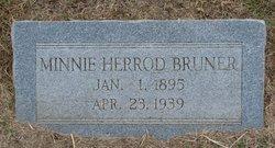 Minnie <i>Herrod</i> Bruner