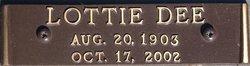 Lottie Dee <i>Hicks</i> Atkins