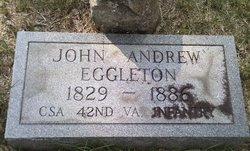 Pvt John Andrew Eggleton