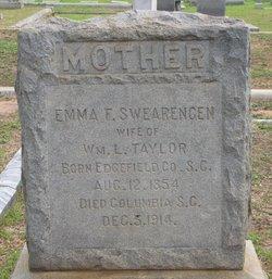 Emma F. <i>Swearengen</i> Taylor