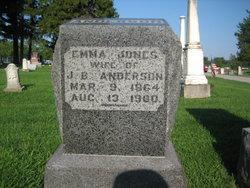 Emma <i>Jones</i> Anderson