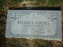Regina L. Gina <i>Whitchurch</i> Counts