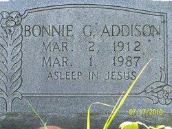 Bonnie Gillis <i>Webb</i> Addison
