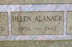 Helen <i>Crow</i> Alanack