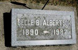 Belle B <i>Burroughs</i> Albertson