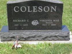 Virginia Mae <i>Walin</i> Coleson