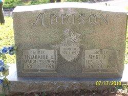 Myrtle <i>McGlothlin</i> Addison