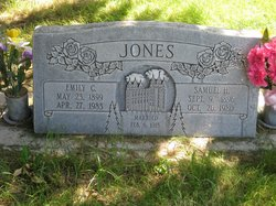 Emily Johanna <i>Curtis</i> Jones