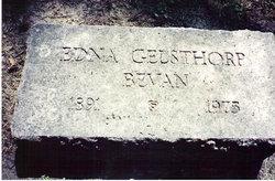 Edna <i>Gelsthorp</i> Bevan
