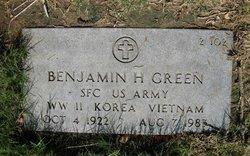 Benjamin H Green