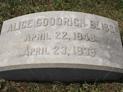 Alice Goodrich Bliss