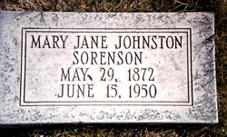 Mary Jane <i>Johnston</i> Sorenson
