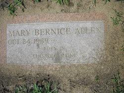 Mary Bernice <i>Dubord</i> Allen