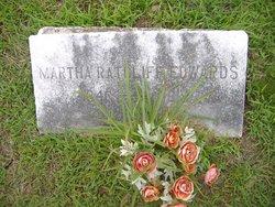 Martha <i>Ratcliff</i> Edwards