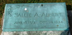 Sallie A <i>Buck</i> Albert