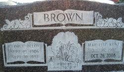 May Elizabeth <i>Kunz</i> Brown