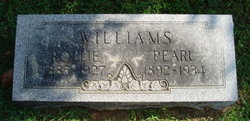 Monte Pearl <i>Mahoney</i> Williams