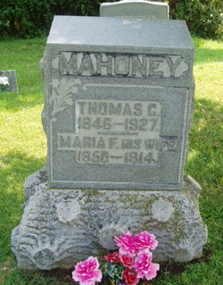 Maria Florence <i>Allen</i> Mahoney