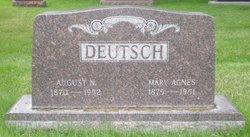 Mary Agnes <i>McCaffrey</i> Deutsch