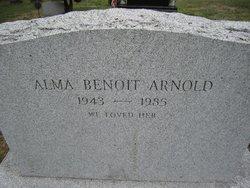 Alma <i>Benoit</i> Arnold