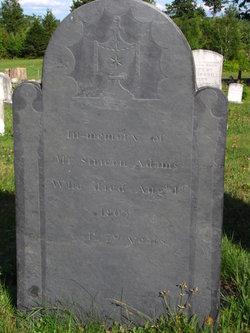 Capt Simeon Adams, Sr