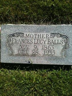 Frances Lucy <i>Thurston</i> Balls