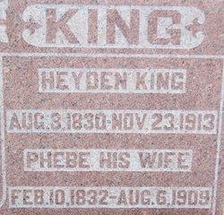 Phebe <i>Bails</i> King