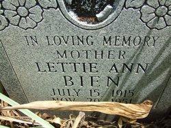 Lettie Ann Bien