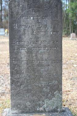 Thomas E. Anderson