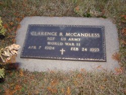 Clarence R McCandless