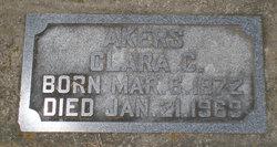 Clara Catherine <i>Conner</i> Akers