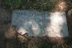 Harriett Emily <i>Johnson Moss</i> Hughes