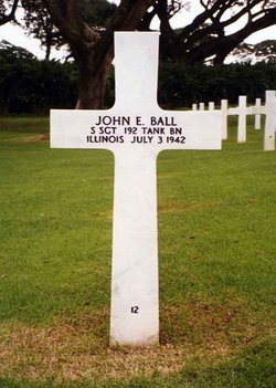 SSgt John E Ball