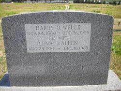 Lena D. <i>Allen</i> Wells