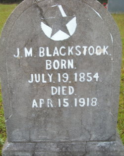 J. M. Blackstock