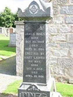 Mary <i>Lawrie</i> Innes