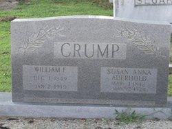 Susan Anna Annie <i>Aderhold</i> Crump