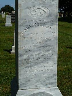 Capt William A. Cook